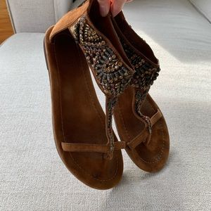 Free People Leather Sandal by Bacio 61 - size 8.5